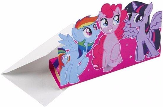 Bol Com My Little Pony Uitnodigingen 8 Stuks My Little Pony