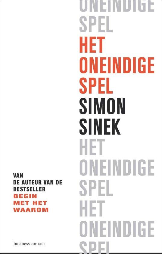 Boek cover Het oneindige spel van Simon Sinek (Paperback)