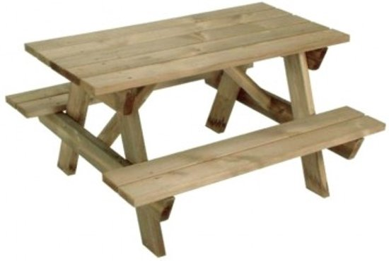 Houten Picknicktafel Gamma.Houten Picknicktafel Junior Kind