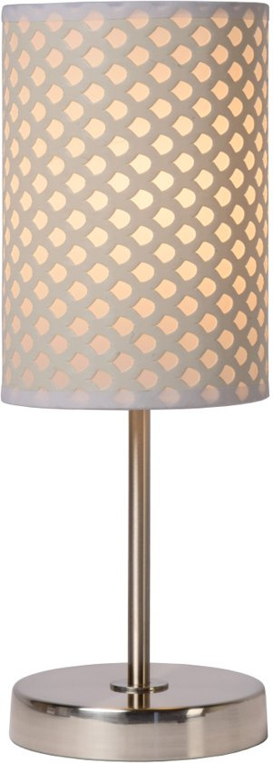 Lucide MODA - Tafellamp - Ø 13 cm - E27 - Wit