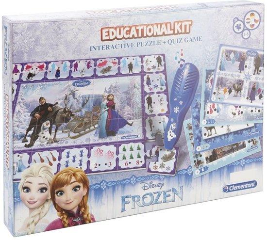 Afbeelding van het spel Clementoni Frozen leerspel Disney Frozen 2 in 1