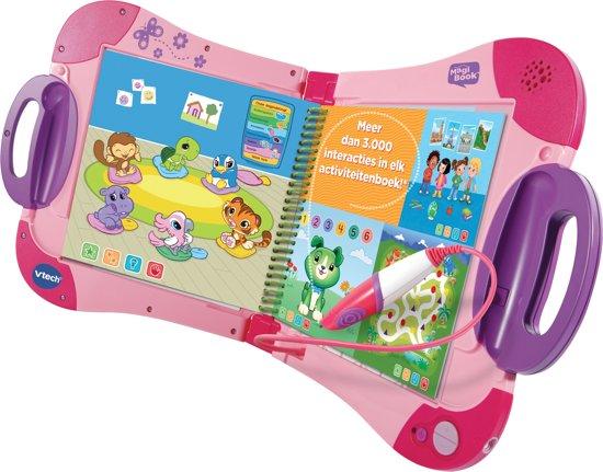 Afbeelding van VTech MagiBook Roze (Inclusief Activiteitenboek: Een Dag Uit Het Dagelijks Leven) speelgoed