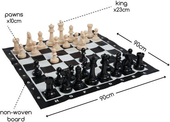 Thumbnail van een extra afbeelding van het spel BS Schaakspel Groot