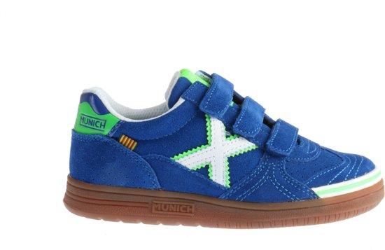125a1827e5d bol.com | Munich G-3 Sneakers Klittenband Blauw