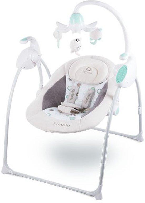 Baby Schommelstoel Met Muziek.Lionelo Robin Kinder Schommelstoel Met Muziek Beige