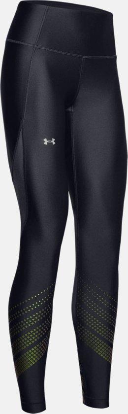 Under Armour HG Armour Legging Ombre Dames Sport Legging - Metallic Silver - Maat S
