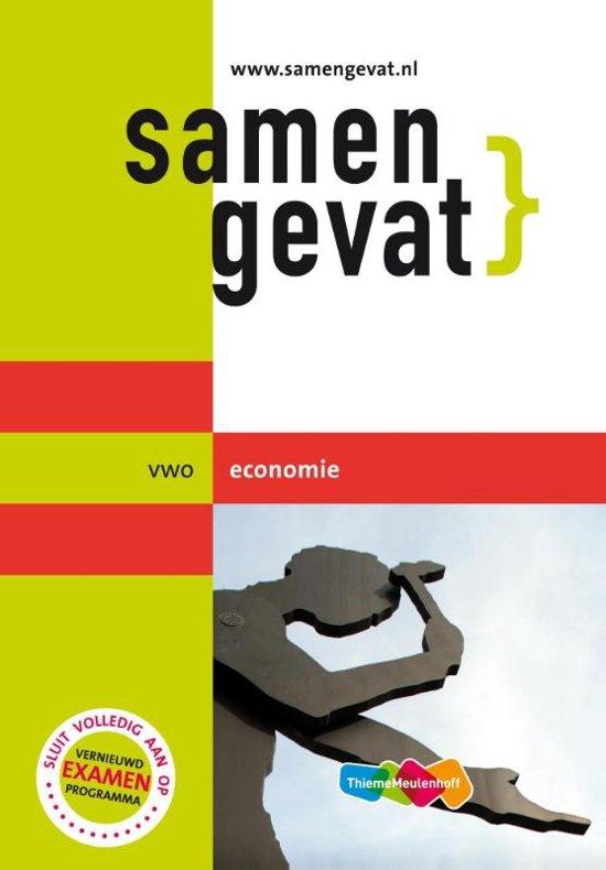 Boek cover Samengevat - Vwo Economie van J.P.M. Blaas (Paperback)