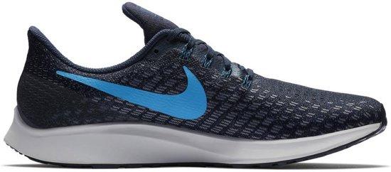 Nike Air Zoom Pegasus 35 Hardloopschoenen Schoenen blauw donker 46