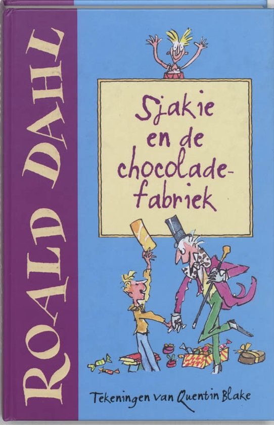 bol sjakie en de chocoladefabriek boeken