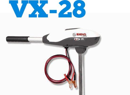 Rhino VX28 Elektrische buitenboordmotor