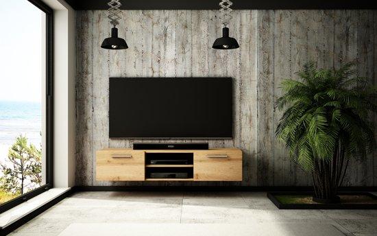 Eiken Kast Tv.Bol Com Az Home Tv Kast Tv Meubel Caroll 150 Cm