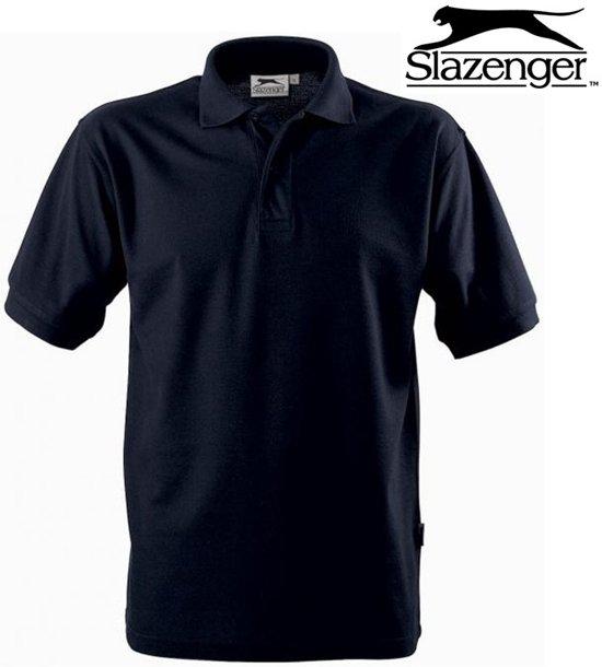 detaillering detaillering 50% prijs bol.com | Slazenger - Heren polo - Donkerblauw - M