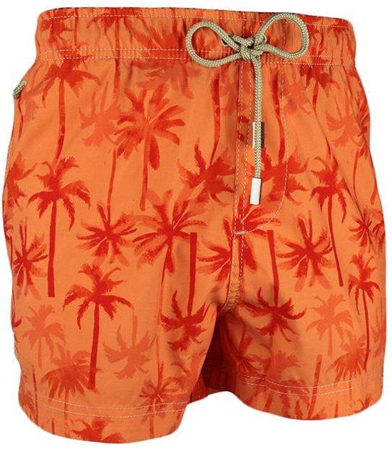 13d5e04a4b5eea Ramatuelle Zwembroek Jongenss - Palm Beach - Oranje - maat 7-8