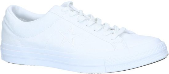 Star Witte Witte Sneaker One Sneaker Converse Converse wFZRqpCn