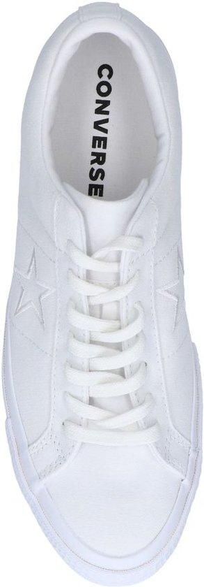 One Converse Converse Witte Sneaker Star Converse Star Witte Witte Sneaker One One Converse Witte Star Sneaker Sneaker wnHqqx6B