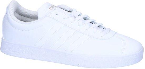 Adidas - Vl Court 2.0 - Sneaker laag sportief - Dames - Maat 36 - Wit -  Ftwr White