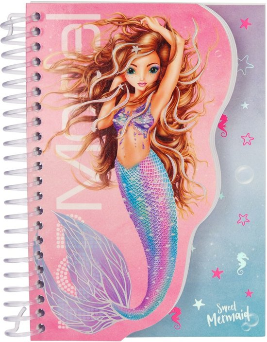 TOPModel Slim Spiraalboek Mermaid