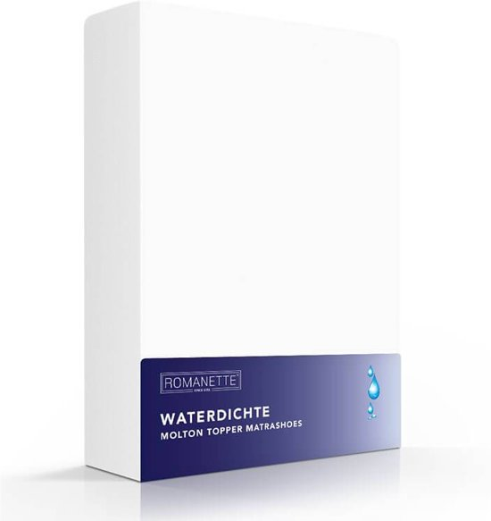 Romanette Topper Molton Waterdicht 70 x 200 cm