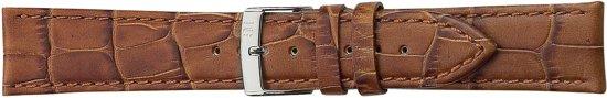 Morellato PMX041BOLLE IG Horlogebandje - Leer - Bruin - 22 mm
