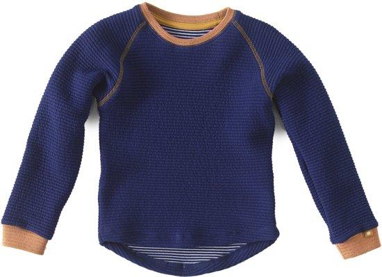 Meisjes sweater - padded navy