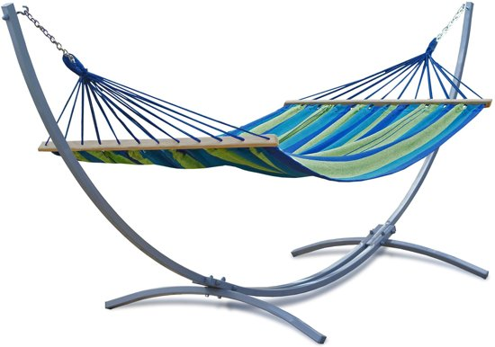 Garden Impressions Hangmat Tubular Met Standaard.Hangmat Inclusief Standaard Rsvhoekpolder