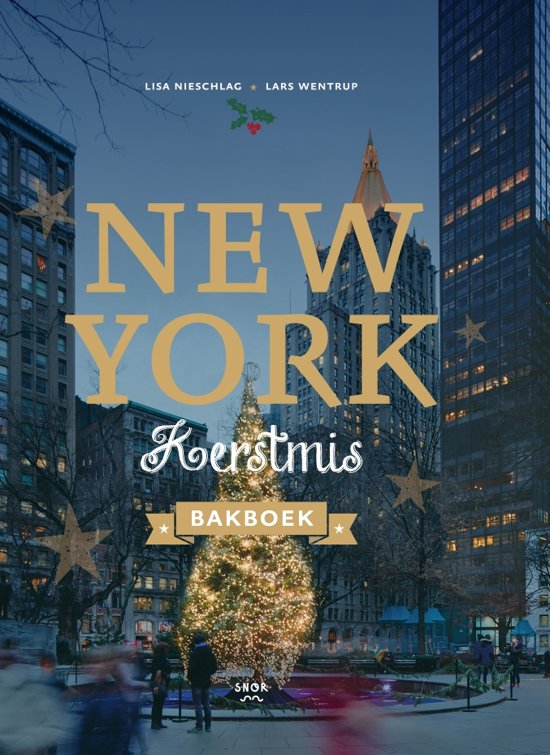 New York Kerstmis bakboek