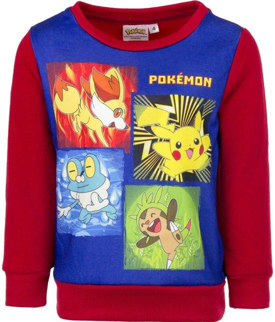 Pokemon sweater / trui maat 5 (110)