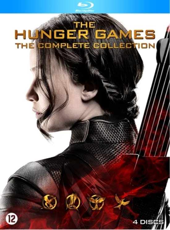 DVD cover van The Hunger Games: The Complete Collection (Blu-ray)