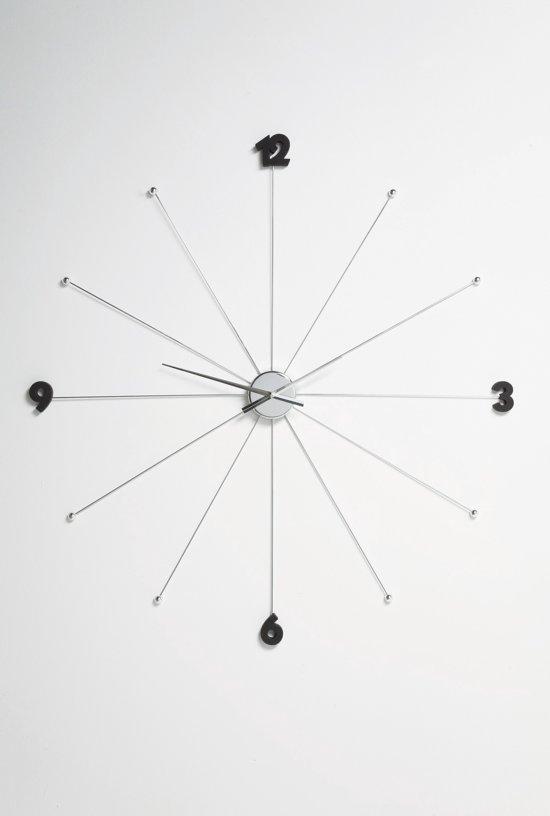 Kare Design Kare Wandklok Like Umbrella Chrome