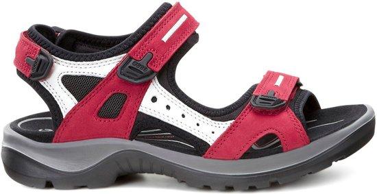 sports shoes 08866 30e30 Ecco Sandalen - Maat 37 - Vrouwen - donkerroze/zwart