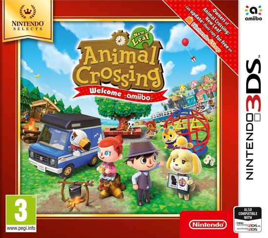 Animal Crossing: New Leaf (Selects) 3DS