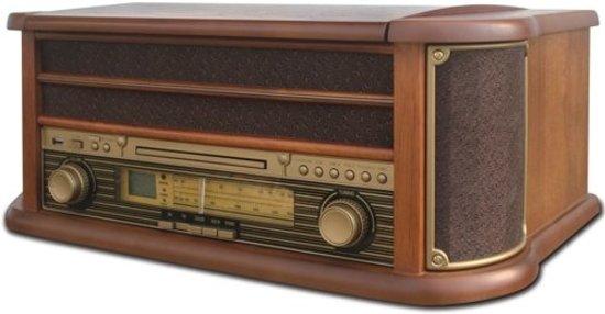 Camry CR 1111 - Retro draaitafel - CD/USB/MP3 - Stereo player
