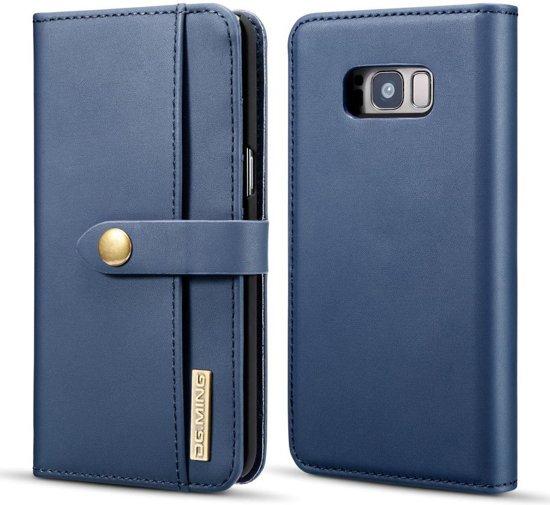 c23728dcc41 bol.com | Samsung Galaxy S8 Leren 2-in-1 Bookcase en Back Cover ...