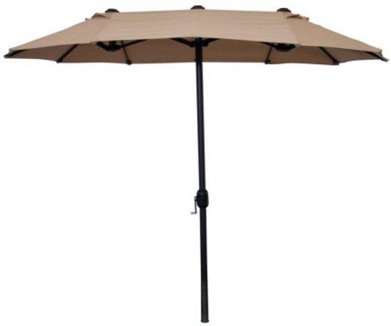 Parasol Voor Balkon.Bol Com Leco Parasol Voor Balkon 270x150 Cm