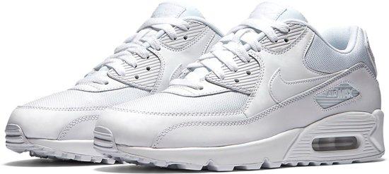 Nike Air Max 90 Essential - White/White-White-White - Sneakers Heren - 537384-111