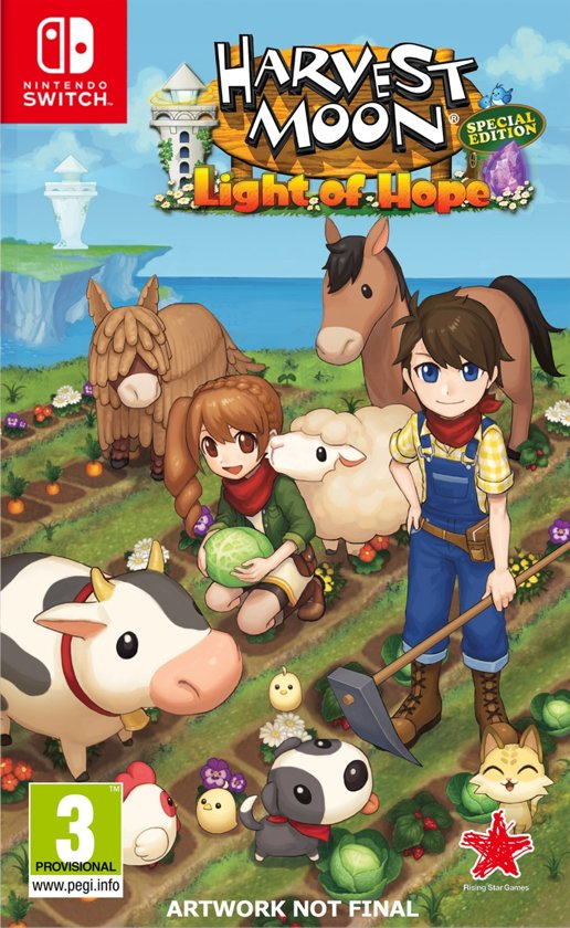 Harvest Moon - Light of Hope Special Edition Switch