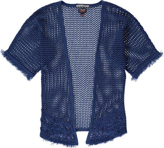 Bolcom Blue Rebel Meisjes Vest Blauw Maat 98104