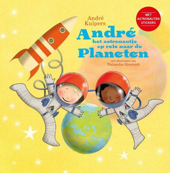 Andre het astronautje op reis naar de planeten