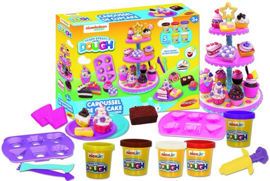 Bolcom Joustra Klei Cupcakes Carrouselpâte A Modeler Carrousel