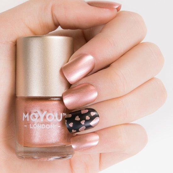 MoYou London Stempel Nagellak - Stamping Nail Polish 9ml. - Peach Tart