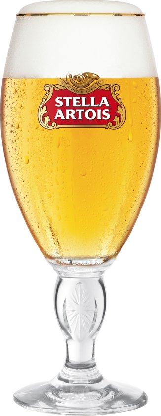 duo Stella-Artoisglazen - glas Stella-Artois op voet 2st