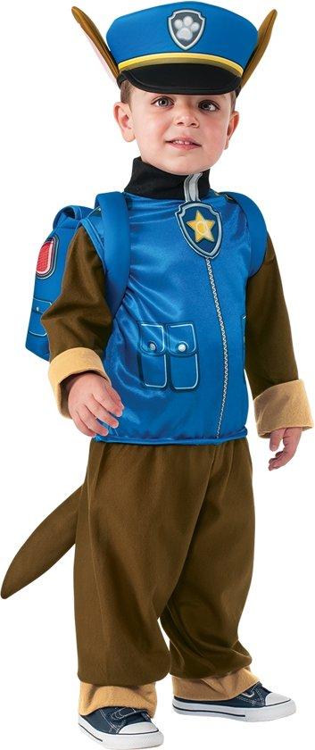 Afbeelding van Chase Paw Patrol Politiehond Maat 86/92 - Kinderkostuum speelgoed