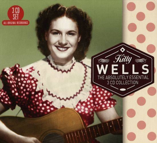 CD cover van Absolutely Essential 3 Cd Collection van Kitty Wells