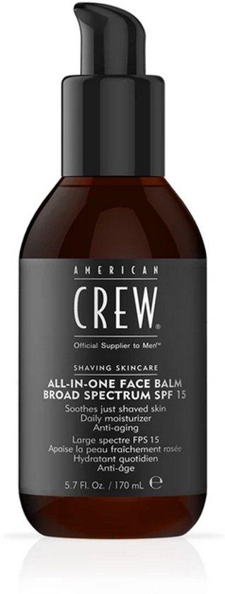 American Crew Shaving skincare all-in-one face balm SPF15 170 ml
