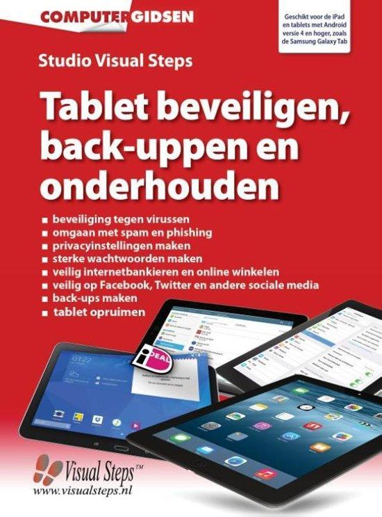 Computergidsen Tablet Beveiligen Back Uppen En