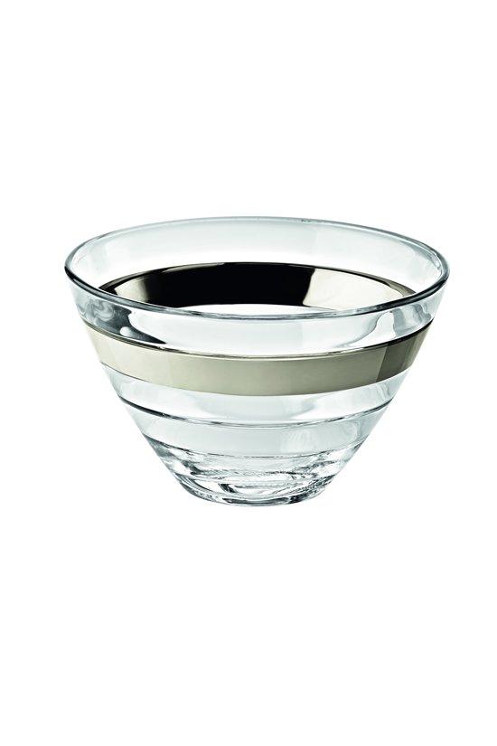 Vidivi Baguette Conische Schaal - Platinum - 61 cl - 14 cm - 6 stuks