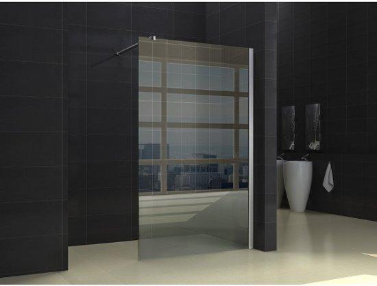 Glaswand Voor Inloopdouche : Bol.com inloopdouche miami 120x200cm antikalk helder glas chroom