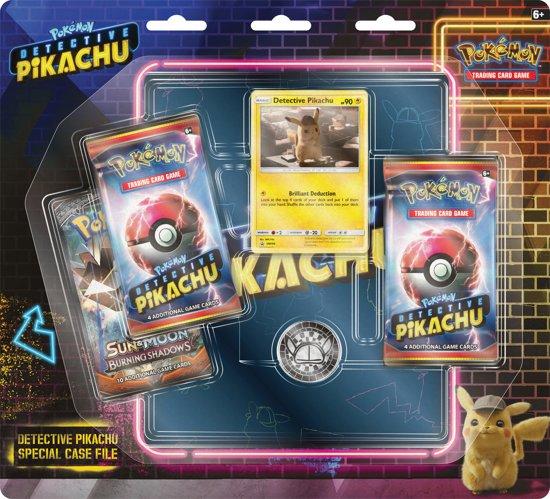 Afbeelding van Pokémon Detective Pikachu  Boosterblister (Inclusief verzamelmap) - Pokémon Kaarten speelgoed