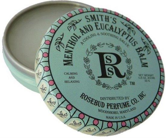 Rosebud Salve Menthol & Eucalyptus - 22 gram - Lippenbalsem