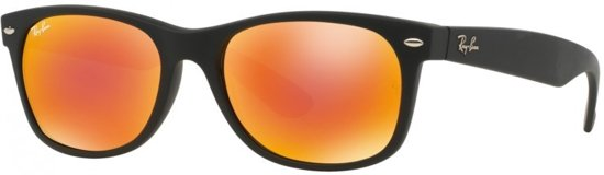 bc77eb1d13eda8 Ray-Ban RB2132 622 69 - zonnebril - New Wayfarer (Flash Lenses)